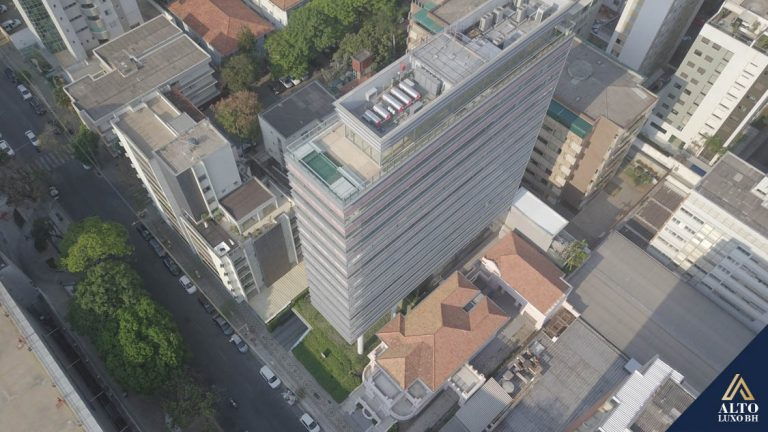 Aparteamento 4 Suites no Lourdes, em frente ao Minas Tênis Clube